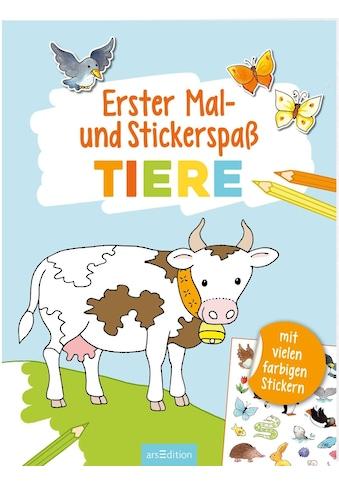 Buch Erster Mal -  und Stickerspaß Tiere / Corina Beurenmeister kaufen