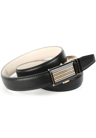 Anthoni Crown Ledergürtel, Schließe in Bicolor-Optik kaufen