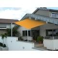 Floracord Sonnensegel, B: 460 cm, elfenbeinfarben