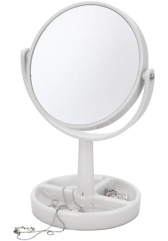 MSV Kosmetikspiegel »Venezia«, x3, Standspiegel mit Ablage, rund kaufen