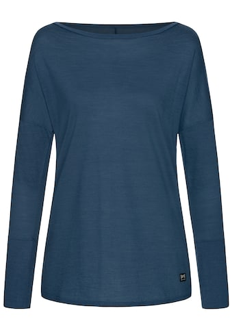 SUPER.NATURAL Longsleeve »W TRAVEL LS«, feinster Merino-Materialmix kaufen