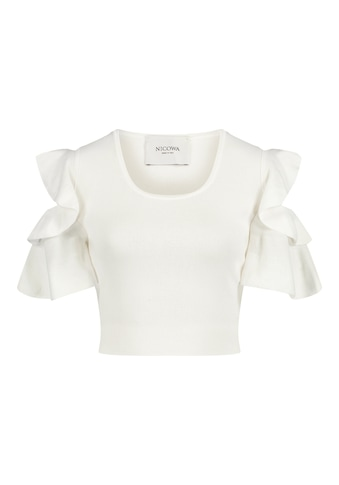 Nicowa Kurzarmshirt »INIDO«, aus Rayon Strick - INIDO kaufen