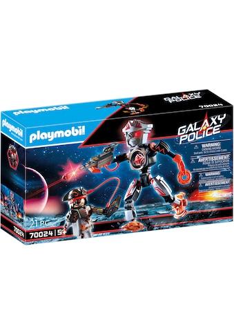 Playmobil® Konstruktions-Spielset »Galaxy Pirates-Roboter (70024), Galaxy Police«,... kaufen