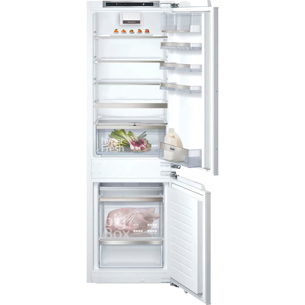SIEMENS Einbaukühlgefrierkombination »KI86NADF0«, iQ500