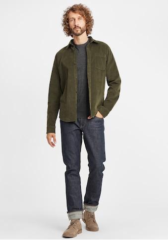 Blend Langarmhemd »Clody«, Freizeithemd aus Cord mit Button-Down-Kragen kaufen