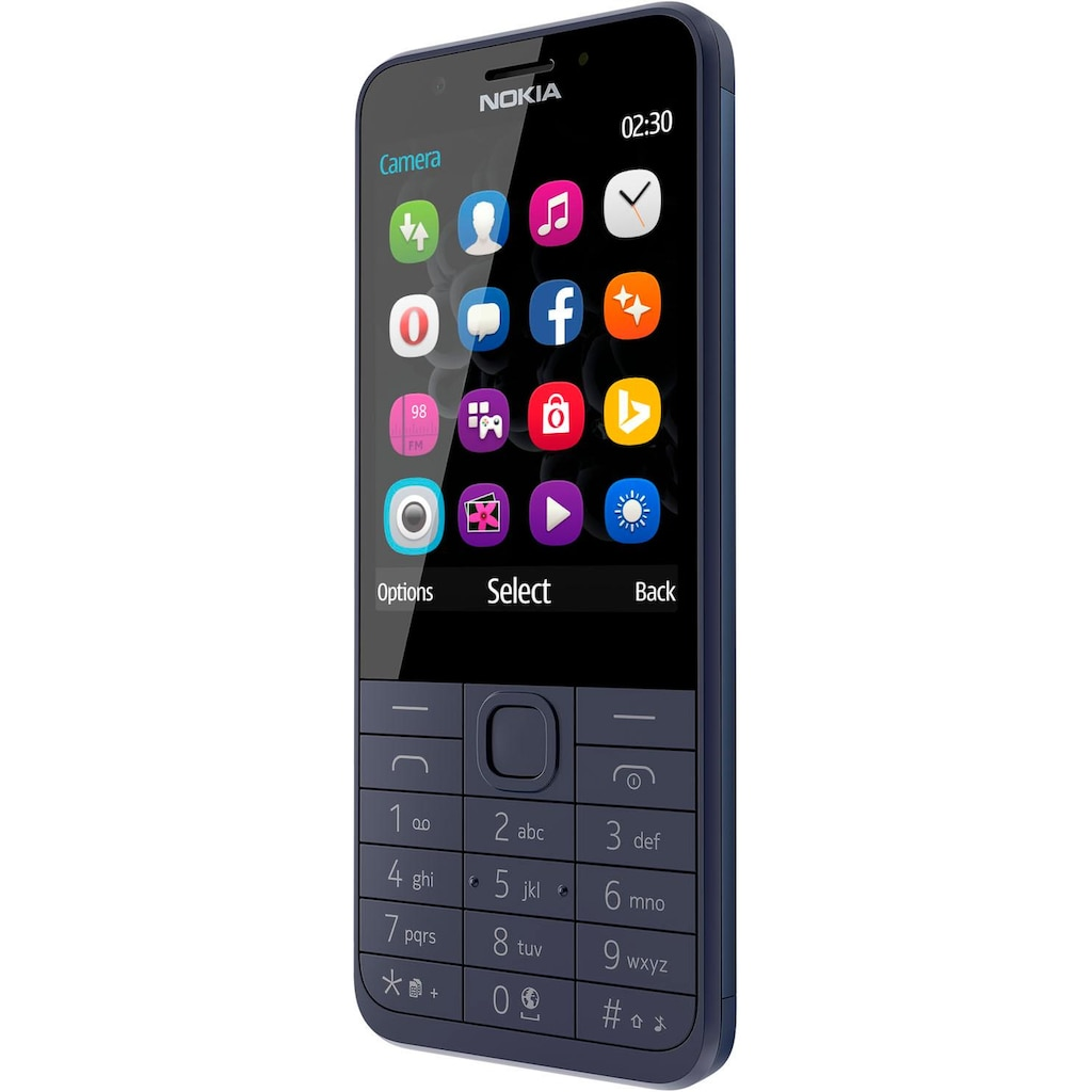 Nokia Handy »230 Dual SIM«, (, 2 MP Kamera)