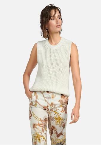 Peter Hahn Kurzarmpullover »Rundhals-Pullover« kaufen
