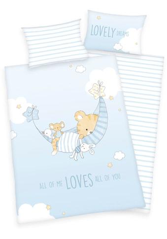 Baby Best Babybettwäsche »Little Tiger«, mit niedlichem Tiger-Motiv und Schriftzug kaufen