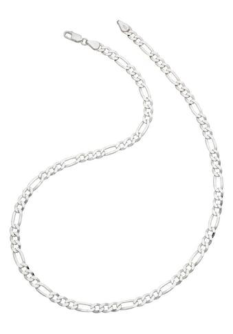 Firetti Silberkette »in Figarokettengliederung, 6-fach diamantiert, poliert« kaufen