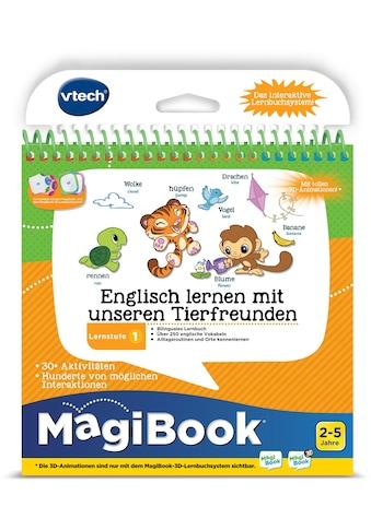 Vtech® Buch »MagiBook Lernstufe 1 - Englisch lernen mit unseren Tierfreunden« kaufen