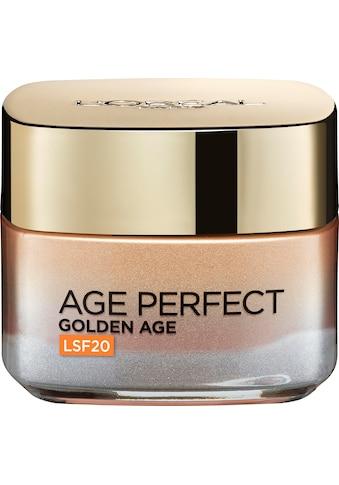 L'ORÉAL PARIS Anti-Aging-Creme »Age Perfect Golden Age LSF20«, mit Calcium B5 kaufen