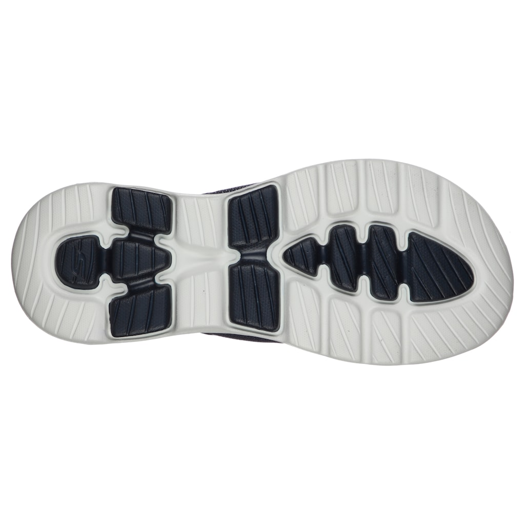 Skechers Zehentrenner »GO WALK 5«, mit weichem Zehensteg