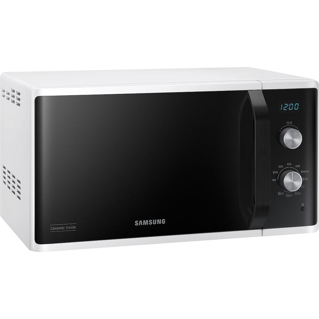 Samsung Mikrowelle »MG23K3614AW/EG«, Mikrowelle, 800 W