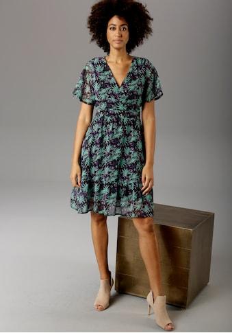 Aniston CASUAL Sommerkleid, mit V-Ausschnitt in Wickeloptik kaufen