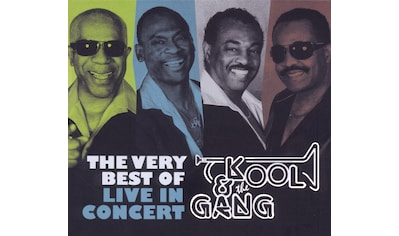 Musik-CD »The Very Best Of-Live In Concert / Kool & The Gang« kaufen