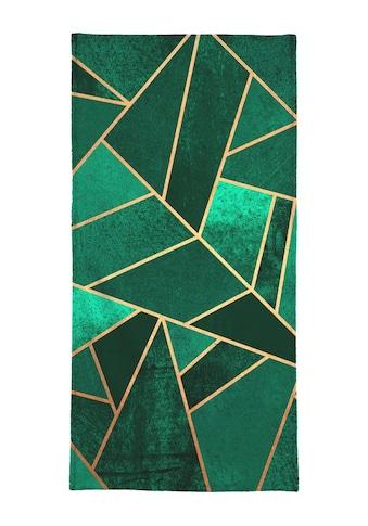 "Handtuch ""Emerald and Copper"", Juniqe kaufen"