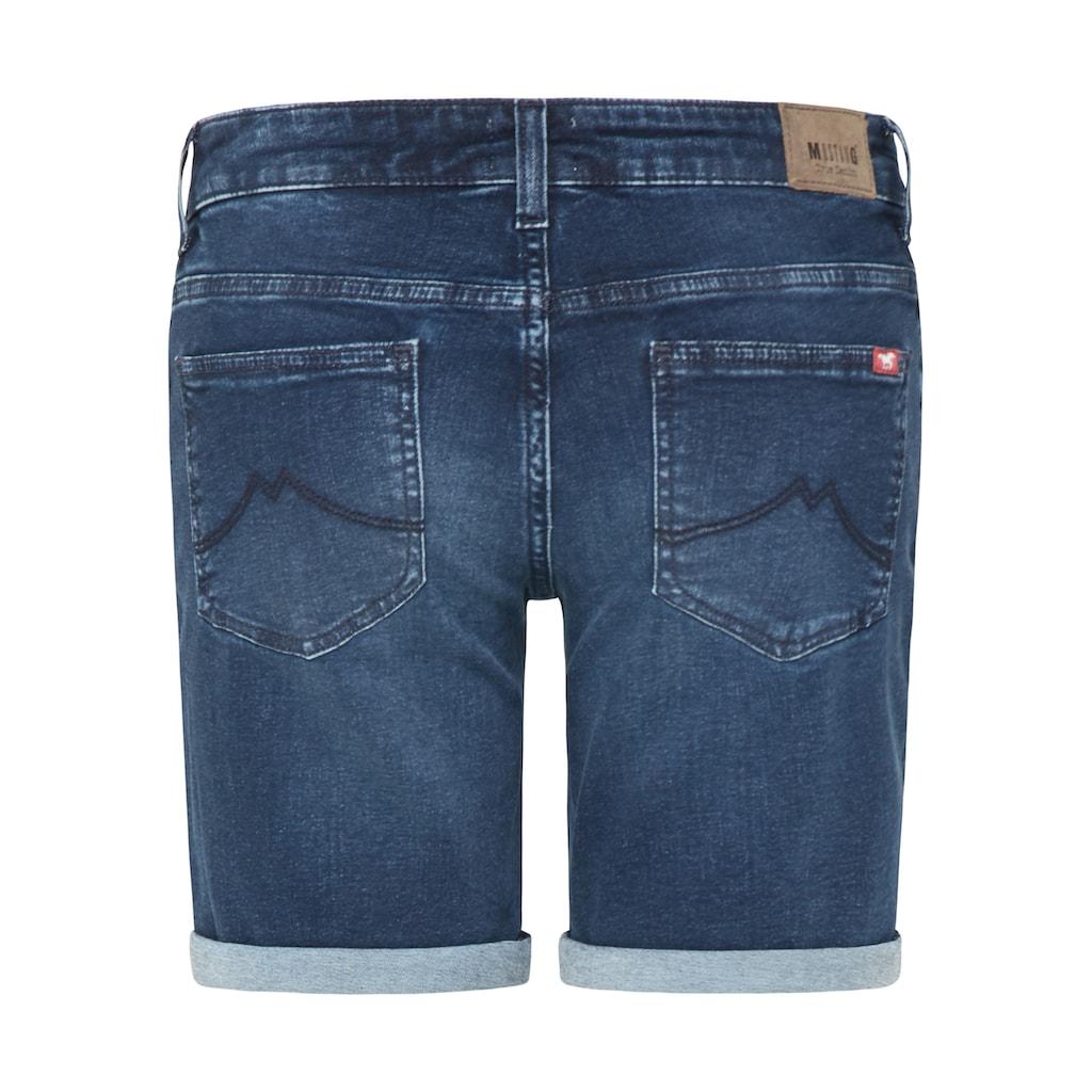 MUSTANG Jeansshorts »Bermuda«, 5-Pocket-Design
