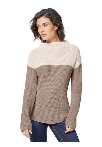 Creation L Pullover mit Kelchkragen kaufen