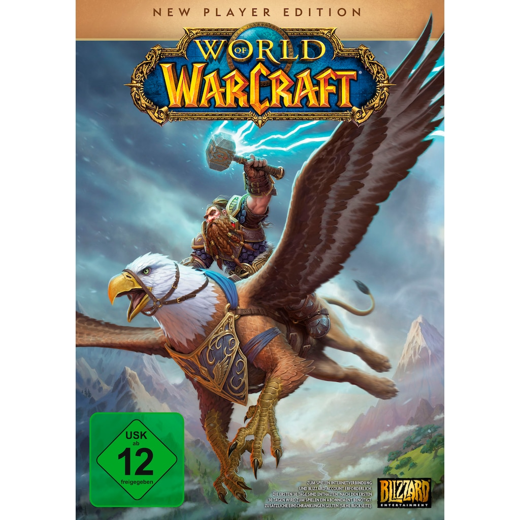ACTIVISION BLIZZARD Spiel »World of Warcraft - New Player Edition«, PC