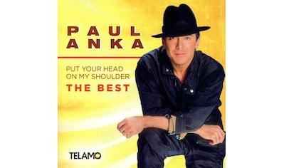 Musik-CD »Put Your Head On My Shoulder,The Best / Anka,Paul« kaufen