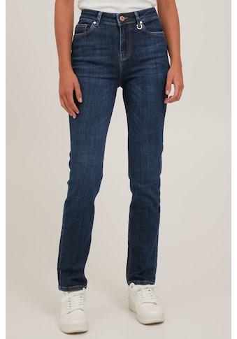 Pulz Jeans Röhrenjeans »PZLIVA Jeans Straight leg 50205917«, Klassische Jeans mit... kaufen