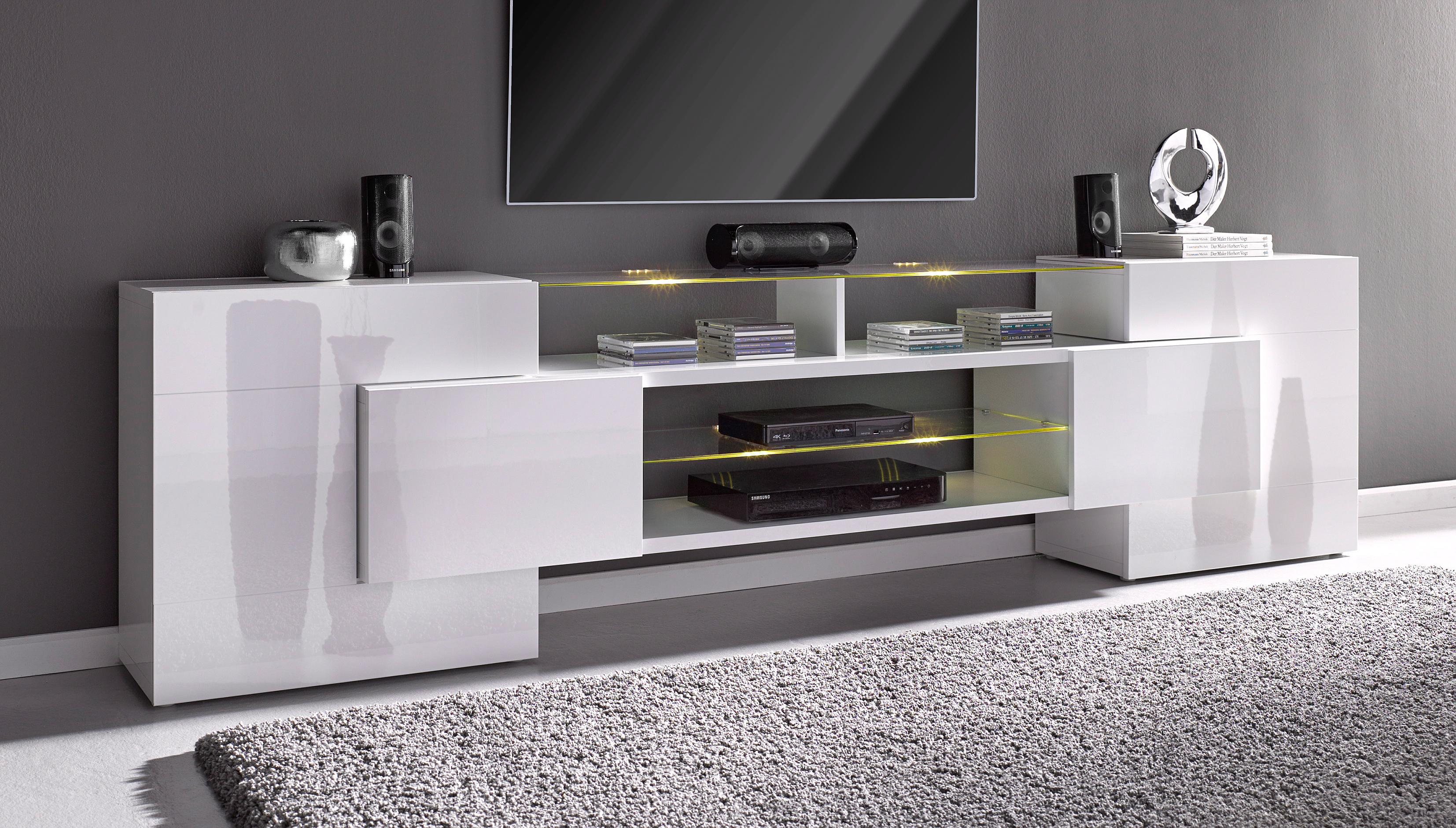 tv lowboard glasaufsatz preisvergleich die besten angebote online kaufen. Black Bedroom Furniture Sets. Home Design Ideas