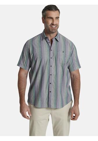 Charles Colby Kurzarmhemd »DUKE OSMOND«, Freizeithemd in Streifenoptik kaufen