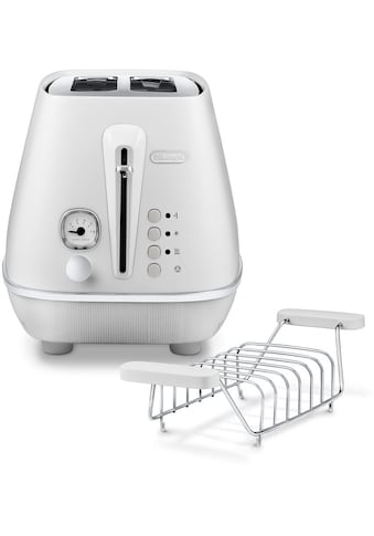 De'Longhi Toaster »Distinta Moments CTIN 2103.W – Sunrise White«, 2 kurze Schlitze,... kaufen