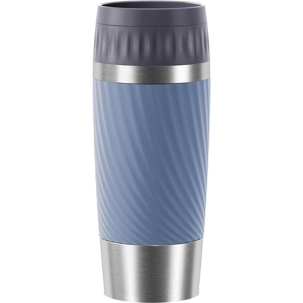 Emsa Thermobecher »Tavel Mug Easy Twist«, Edelstahl, 500 ml Inhalt, auslaufsicher, 4h heiß, 8h kalt, doppelwandig, spülmaschinenfest