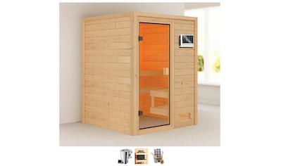 Karibu Sauna »Sandy«, 3,6-kW-Bio-Plug & Play Ofen mit ext. Steuerung kaufen