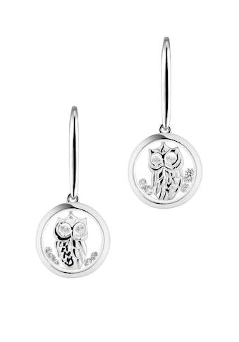 ASTRA Ohrhänger-Set »ASTRA WISE OWL Hook Earrings Plain Frame« kaufen