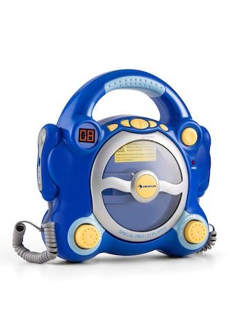 Auna Kinder Karaoke Anlage CD Player 2 x Mikrofon Batteriebetrieb »Pocket Rocker« kaufen