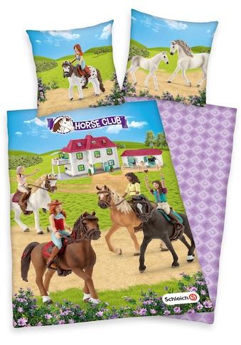 Schleich® Kinderbettwäsche »Schleich, Horse Club«, mit tollem Horse-Club-Motiv kaufen