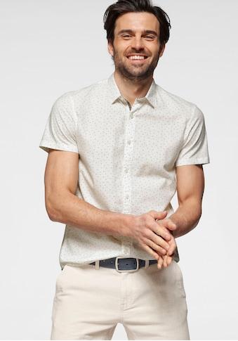 TOM TAILOR Denim Kurzarmhemd, mit Alloverprint kaufen