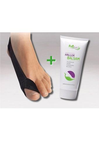 Fußgut Hallux-Bandage »Korrektur Schlaufe & Hallux Balsam«, rechts kaufen