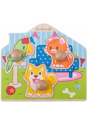 "EverEarth® Puzzle ""Puzzle  -  Haustiere"" kaufen"