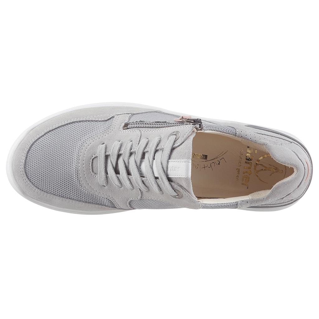 Ganter Sneaker »HELEN«, mit vegetabil gegerbter Innenausstattung, H-Weite