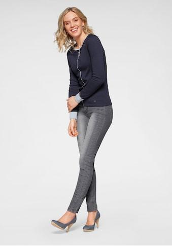 Arizona Slim-fit-Jeans, Mit modischen Nahtverläufen - NEUE KOLLEKTION kaufen