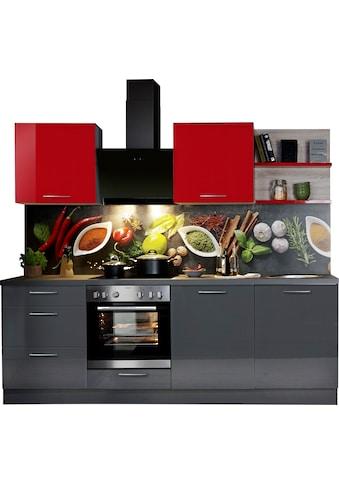 Express Küchen Küchenzeile »Jena«, ohne E-Geräte, vormontiert, mit... kaufen