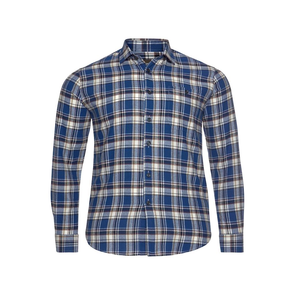 Man's World Flanellhemd, Modisches Großkaromuster