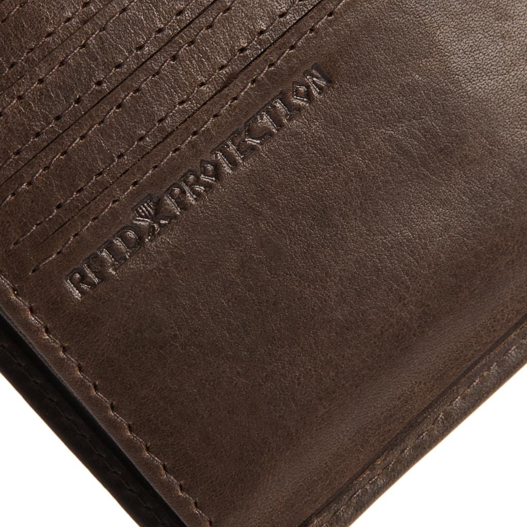 MANO Geldbörse »DON MARCO«, 2fach klappbar
