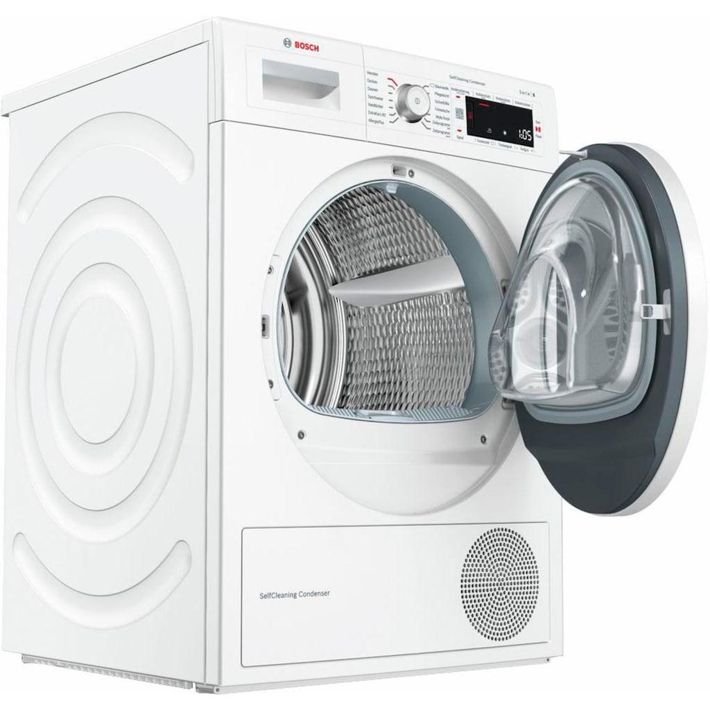 BOSCH Wärmepumpentrockner »WTW87541«, 9 kg