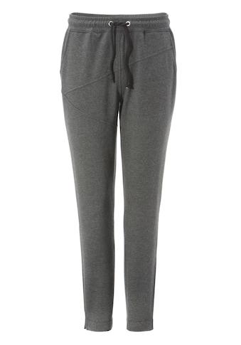 Aniston CASUAL Jogger Pants, mit kleinen Schlitz am Beinabschluss - NEUE KOLLEKTION kaufen