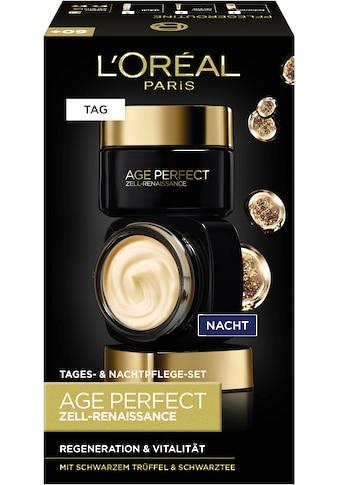 L'ORÉAL PARIS Gesichtspflege-Set »Age Perfect Zell-Renaissance Tag- und Nacht«, (2... kaufen