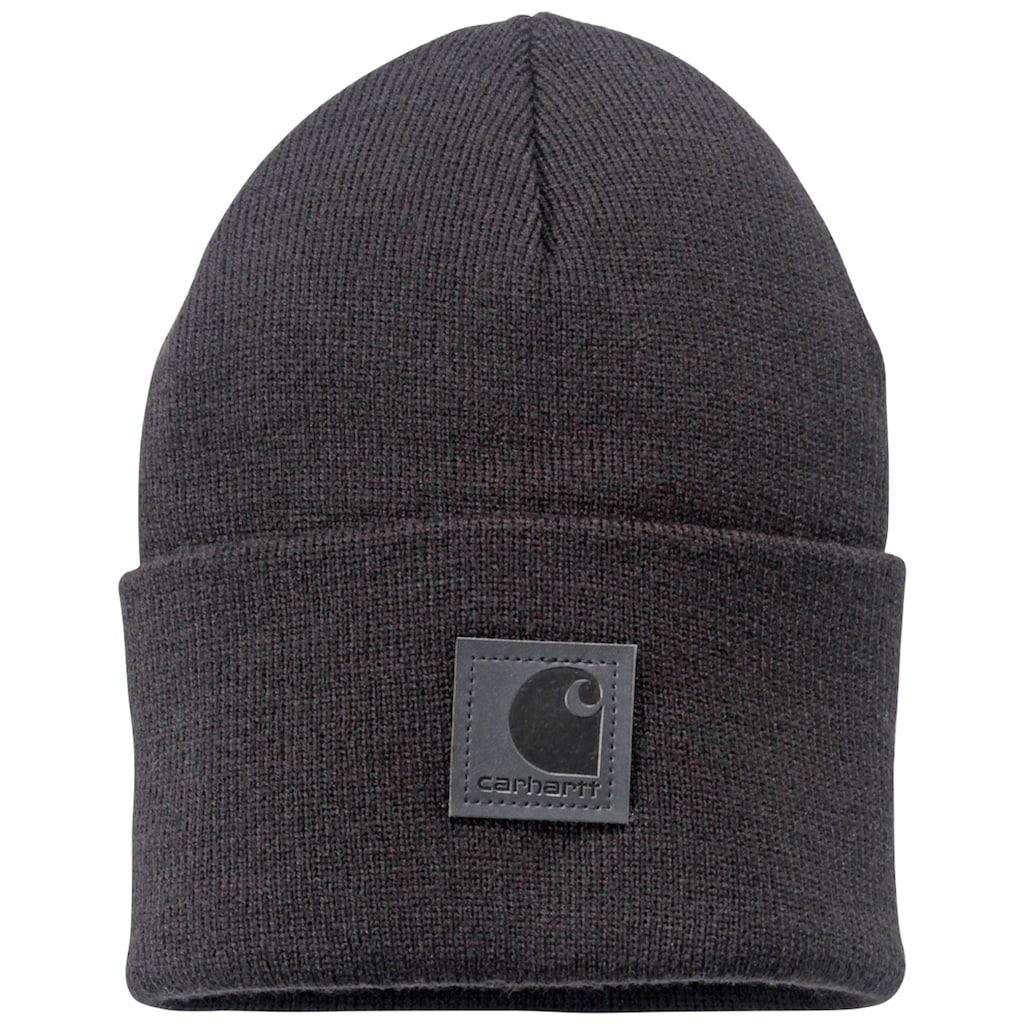 Carhartt Strickmütze »Black Label«, mit Carhartt Logo