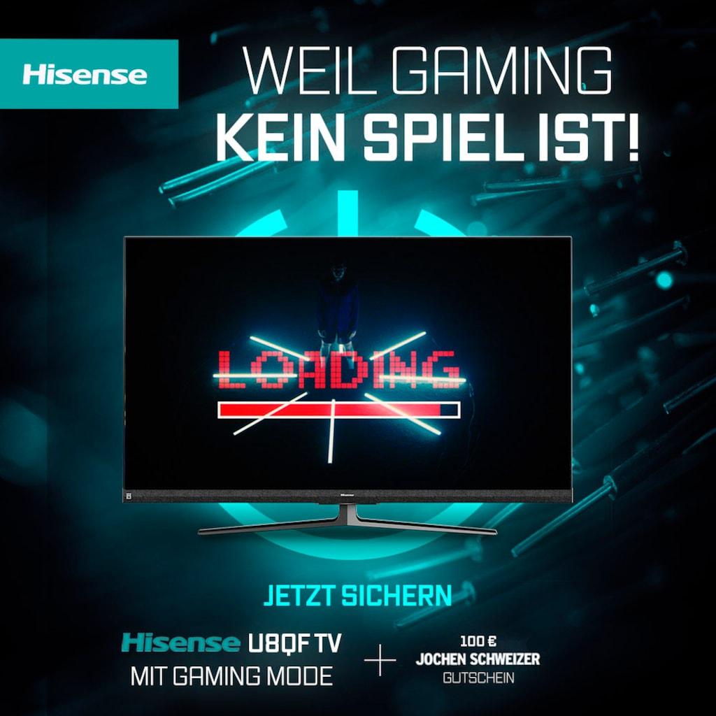 "Hisense LED-Fernseher »65U8QF«, 164 cm/65 "", 4K Ultra HD, Smart-TV, Quantum Dot Technologie, 120Hz Panel, USB-Recording, JBL sound, Alexa Built-in"