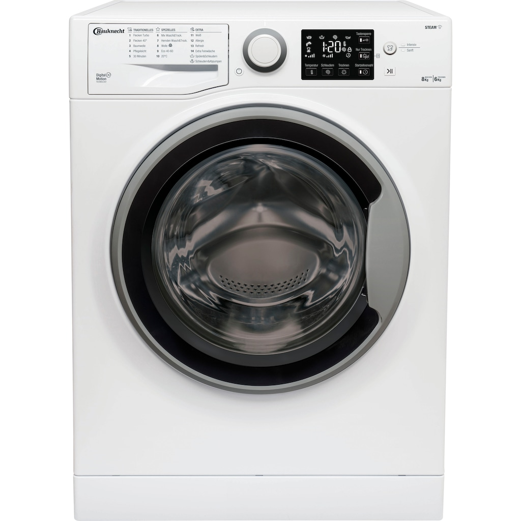 BAUKNECHT Waschtrockner »WT SUPER ECO 8614«