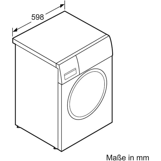BOSCH Wärmepumpentrockner WTH83002, 7 kg