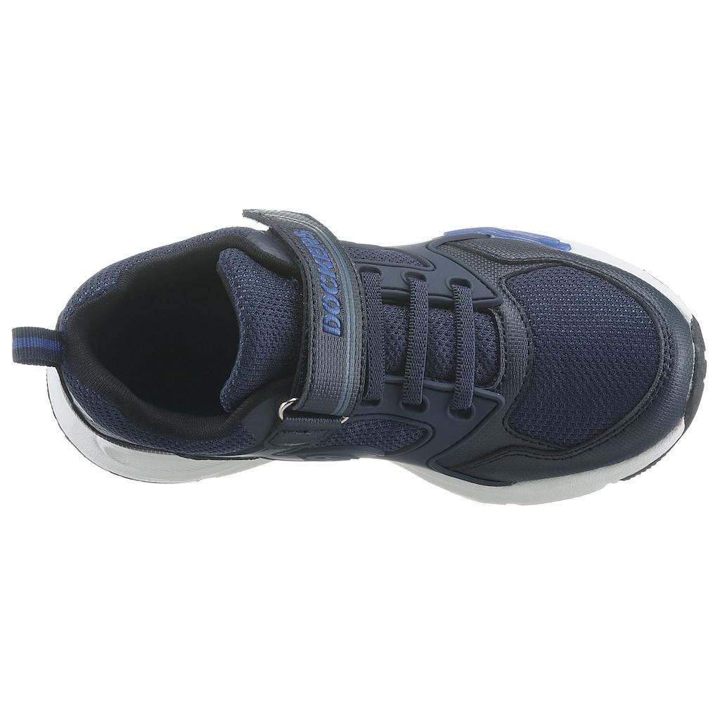 Dockers by Gerli Sneaker, mit Klettverschluss und Gummizug