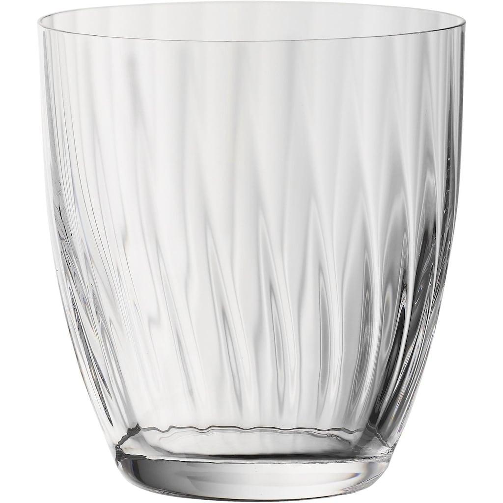 BOHEMIA SELECTION Glas »New England«, (Set, 6 tlg., 6 Trinkbecher), spülmaschinengeeignet, 6-teilig